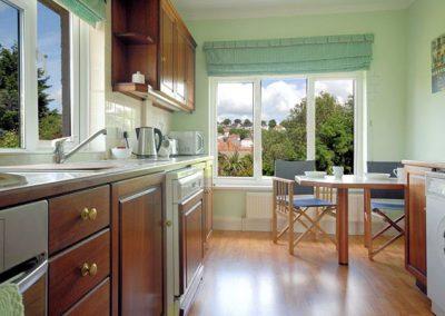 The kitchen @ Upper Alvista