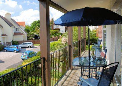 The balcony @ Upper Alvista