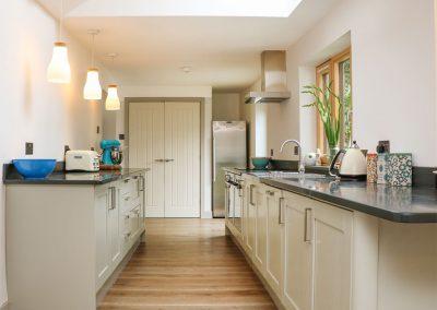 The kitchen at Ventonwyn, Perranzabuloe