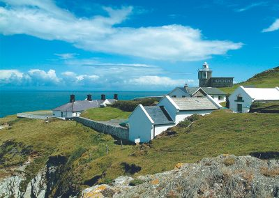 Warden is one of four holiday cottages at Bull Point Lighthouse, Mortehoe
