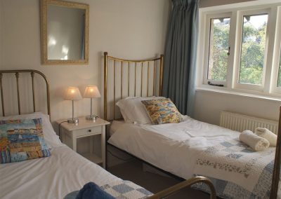 Bedroom #2 at Wassail Cottage, Yalberton