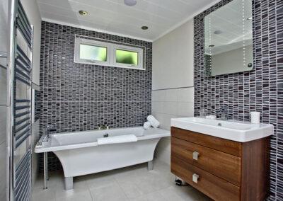 Bedroom #2 en-suite at Watermouth Lodge, Kentisbury Grange, Kentisbury
