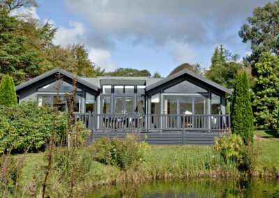 Outside Watermouth Lodge, Kentisbury Grange, Kentisbury