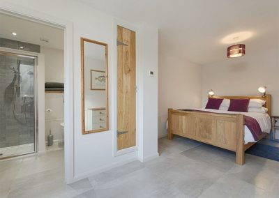 Bedroom #1 & en-suite at Waterside, Kenn