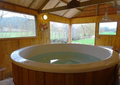 The hot tub at Waterside, Kenn
