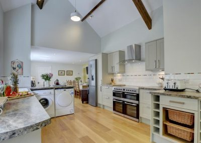 The kitchen at Watersmeet Cottage, Lynmouth