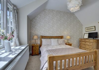Bedroom #3 at Watersmeet Cottage, Lynmouth