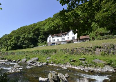 Watersmeet Cottage, Lynmouth has fantastic river and valley views