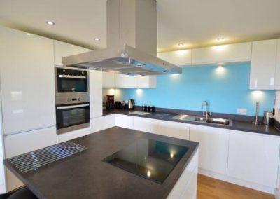 The kitchen at Wavelength, Goonvrea
