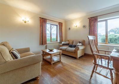 The second living area at Webbs Retreat, Roserrow, Polzeath
