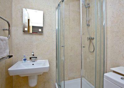 Bedroom #3 en-suite at Westcliffe, Newquay