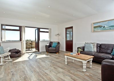 The living area at Wheal Jane, Wheal Dream, Wendron