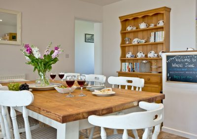The dining area at Wheal Jane, Wheal Dream, Wendron