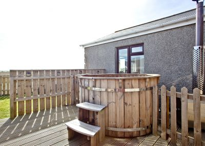 The hot tub at Wheal Jane, Wheal Dream, Wendron