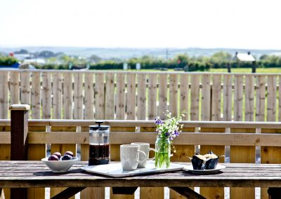 The outdoor patio at Wheal Jane, Wheal Dream, Wendron