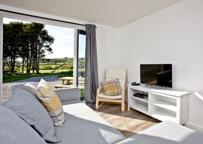 The living area at Wheal Prosper, Whealdream, Wendron