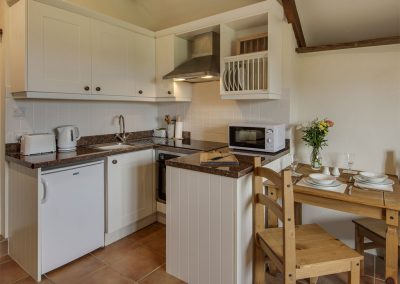 The open-plan kitchen & dining area at WhiteTor Farm: Nestling, Cudlipptown