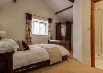 The bedroom at WhiteTor Farm: Nestling, Cudlipptown