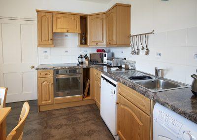 The kitchen at Wolf Rock, Lizard Lighthouse, Lizard