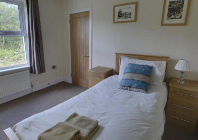 Bedroom #3 at Woolacombe Country House, Woolacombe