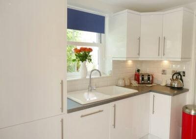 The kitchen at Wynnstead, Combe Martin