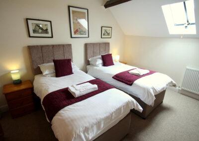 Bedroom #3 at Yenworthy Mill, Oare