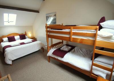 Bedroom #4 at Yenworthy Mill, Oare